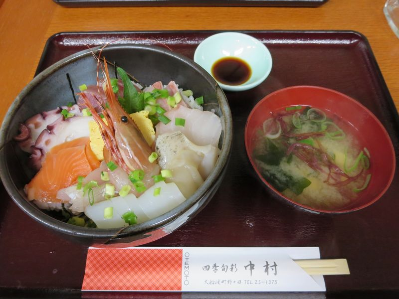 中村特製の海鮮丼